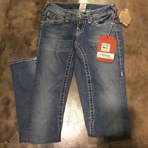 True Religion NEW Joey Jeans 25